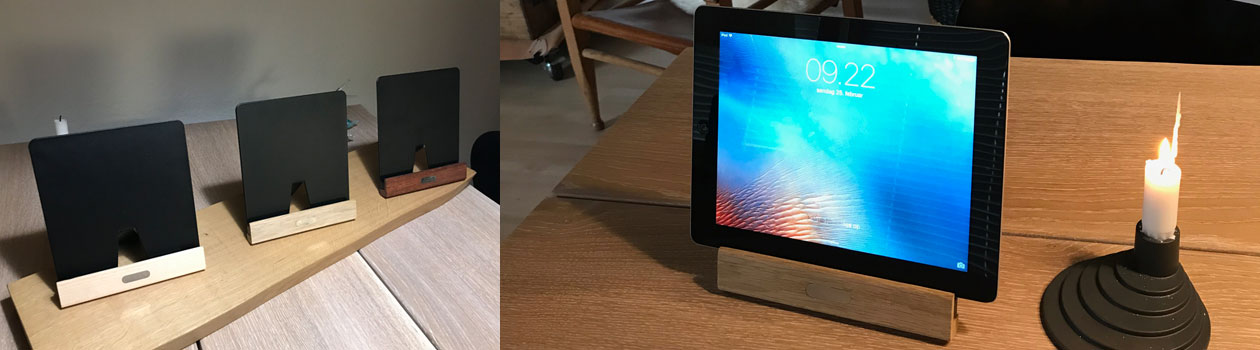 Nyhed - tablet stand